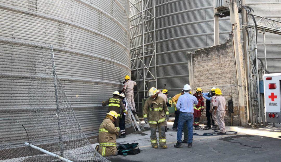 Fallece trabajador dentro de un silo