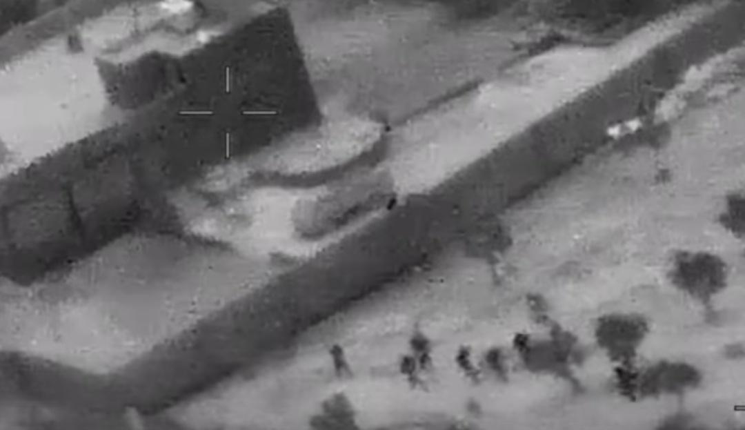 Operación contra Al Baghdadi: el Pentágono desclasifica videos del ataque