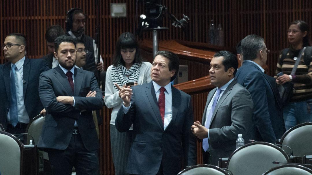 Un cochinero el proceso interno en Morena: Mario Delgado