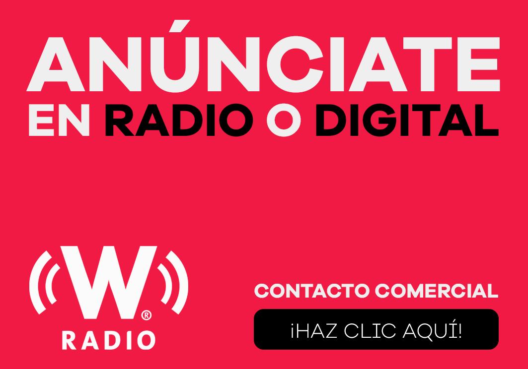 Anúnciate en W RADIO