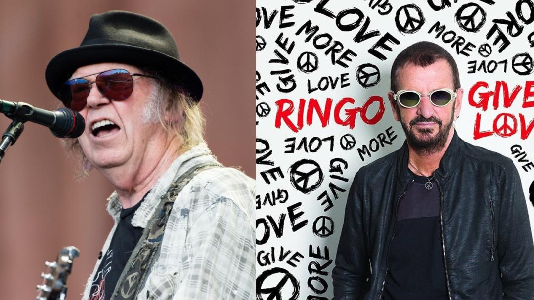 #JUEVESROCKERO: Ringo Starr, Neil Young