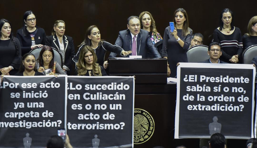 Alfonso Durazo aclara que Ovidio no tiene orden de aprehensión en México
