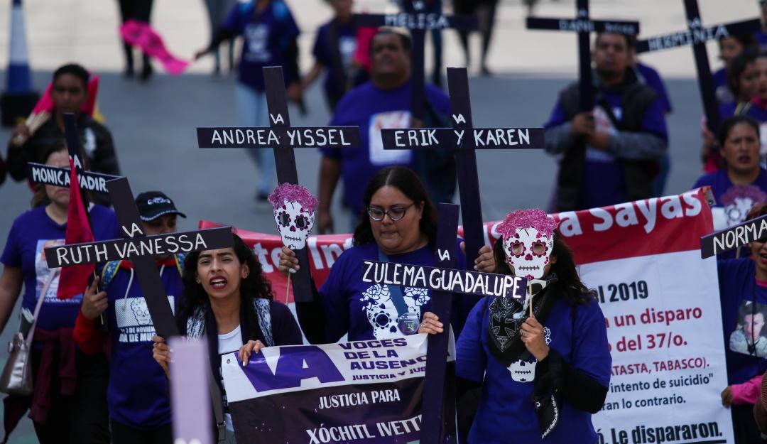 A la alza feminicidios en México durante el presente año