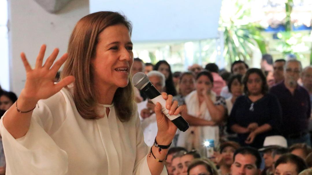 No tenemos dinero para seguridad familiar: Margarita Zavala