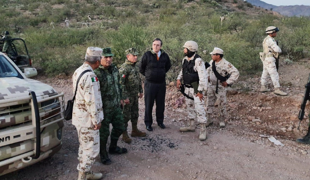México está indignado dice Ebrard, estudian apoyo del FBI