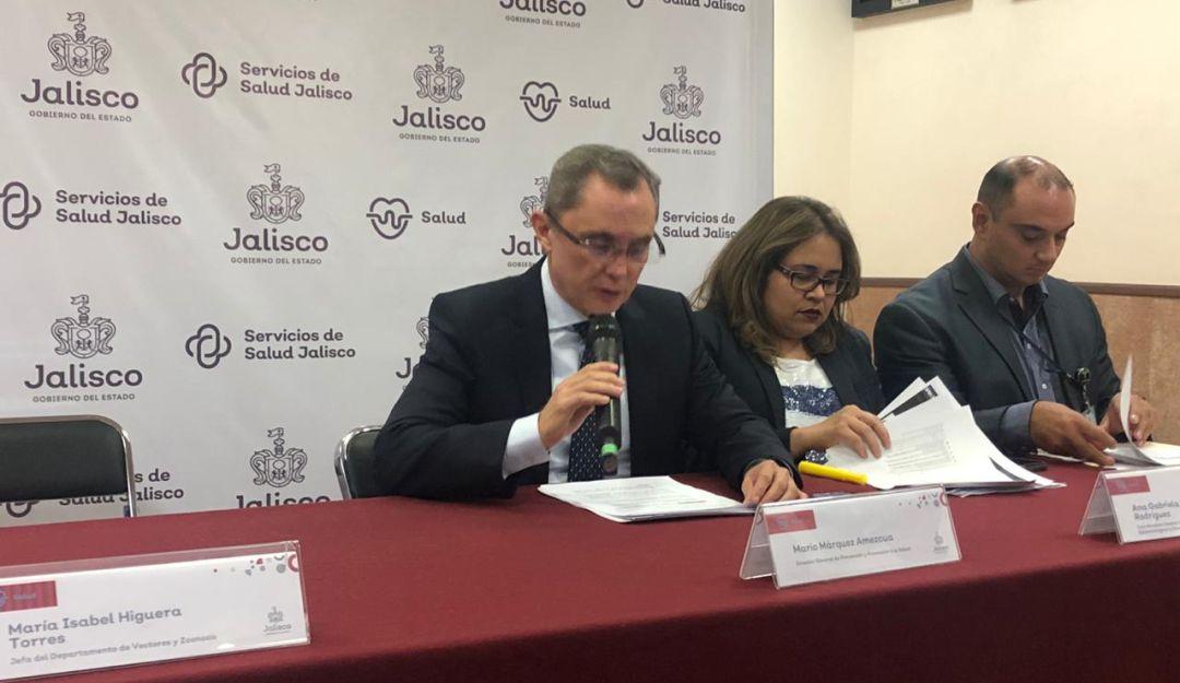 Jalisco continúa siendo el líder en casos de dengue