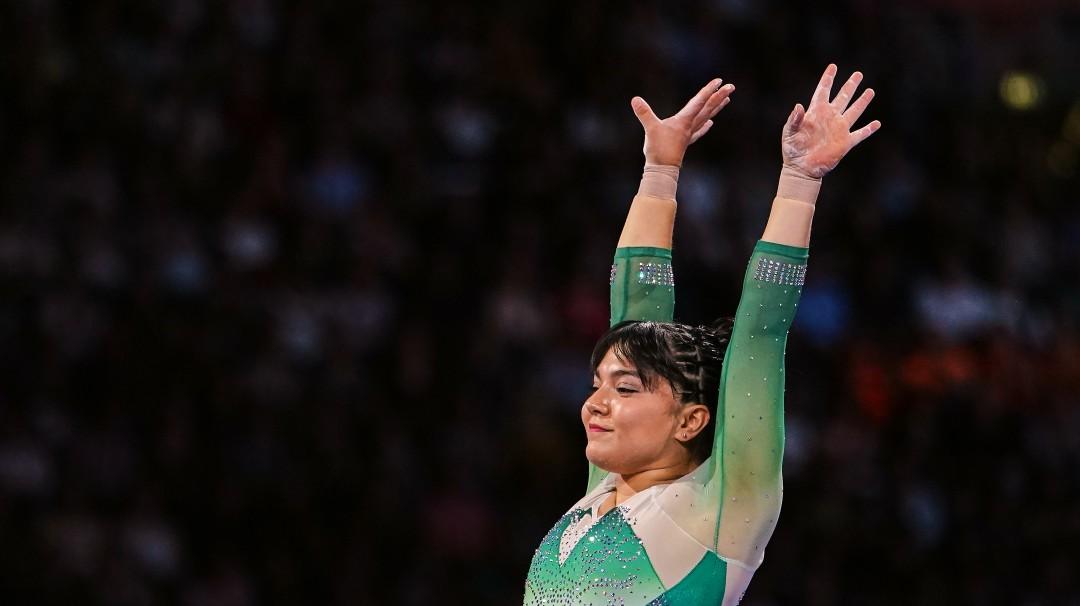 Alexa Moreno gana el Premio Nacional del Deporte
