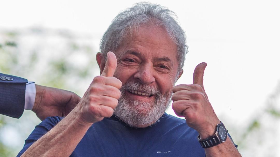 Lula da Silva sale de prisión