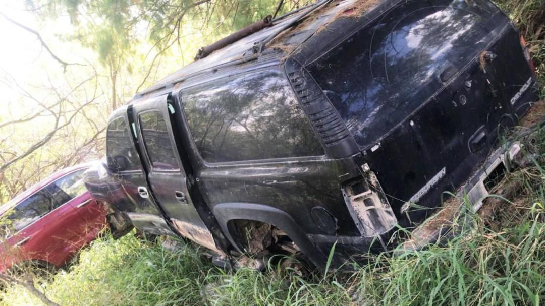 Aseguran autos robados en Tamaulipas