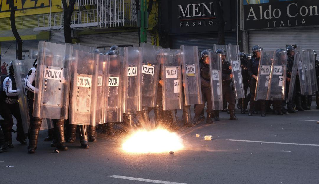 Presentan protocolo de actuación policial ante bloqueos y manifestaciones