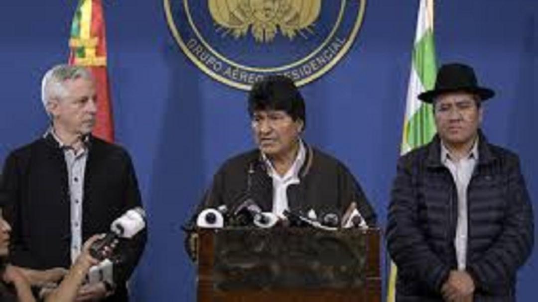 Convoca Evo Morales a nuevas elecciones en Bolivia