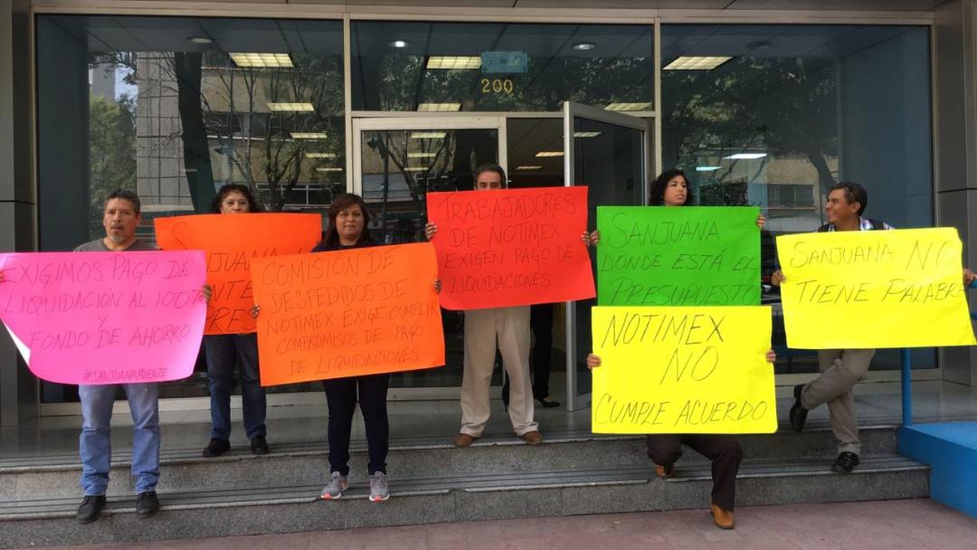 Denuncian trabajadores de Notimex acoso laboral