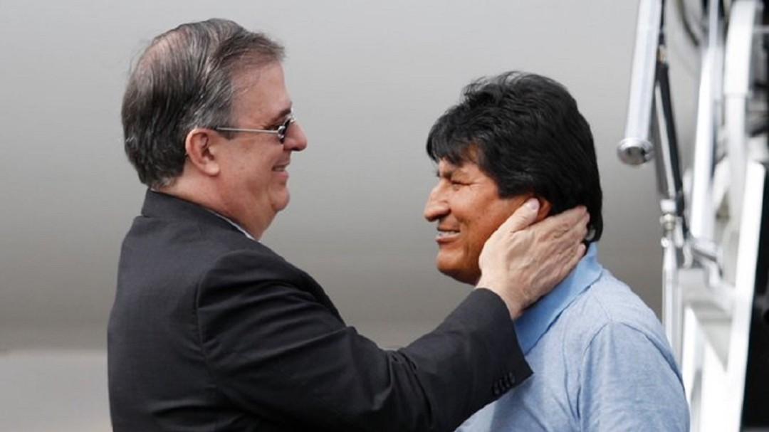 Estoy muy agradecido con México, por salvarme la vida: Evo Morales