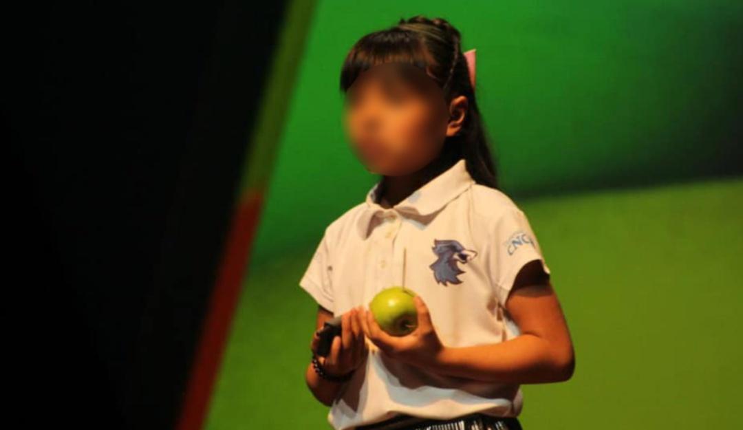 Adhara, la niña genio mexicana con coeficiente superior al de Einstein