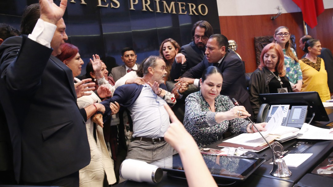 No pudimos físicamente detener la votación: Gustavo Madero
