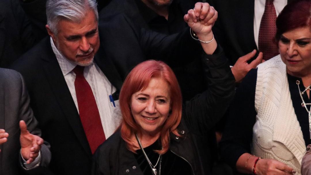 No tengo manchas y estoy tranquila: Rosario Piedra