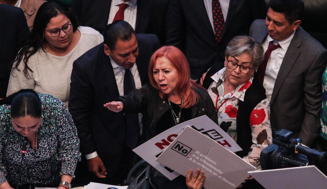 ¿Han asesinado periodistas?, responde Piedra; Morena arremete vs reporteros