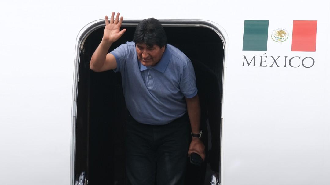 Segob otorga visa humanitaria a Evo Morales