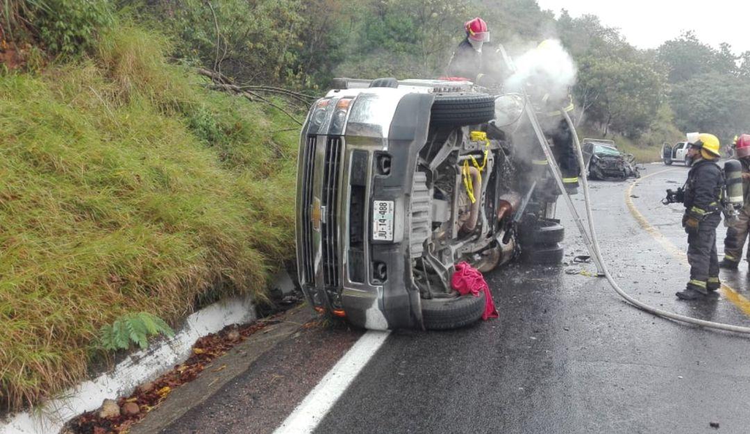 Fuerte choque se registra en carretera GDL – Saltillo