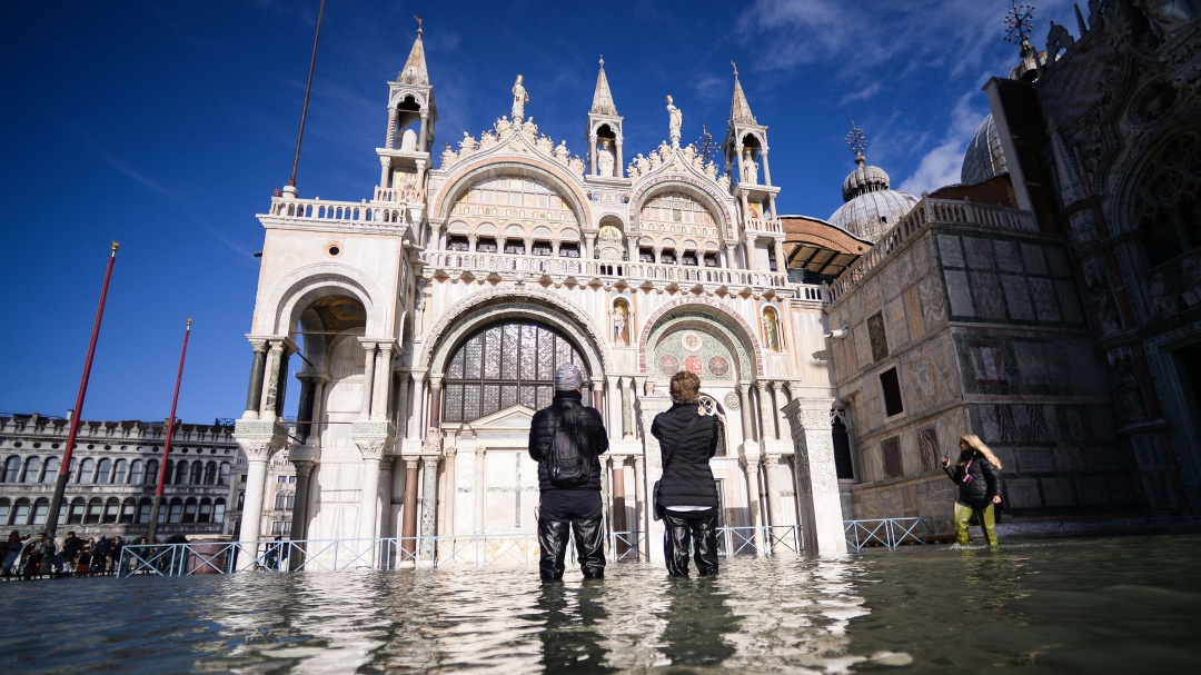 Venecia en estado de emergencia por su peor inundación en más de 50 años
