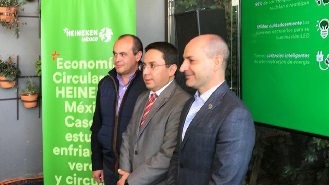"""""""Refrigeradores verdes"""", estrategia de Heineken México"""