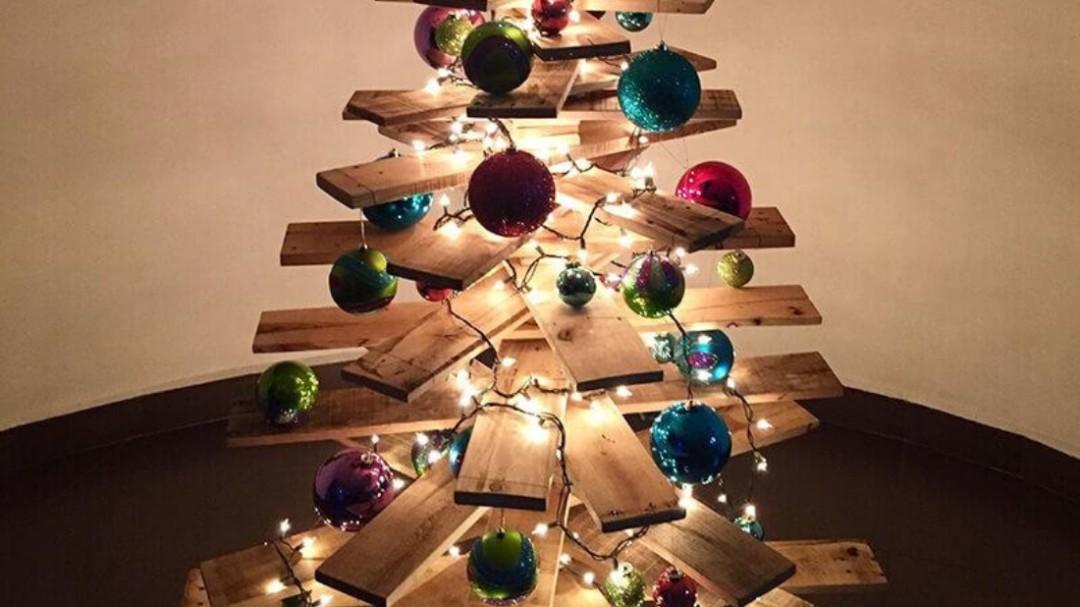 Alternativas para árboles de navidad