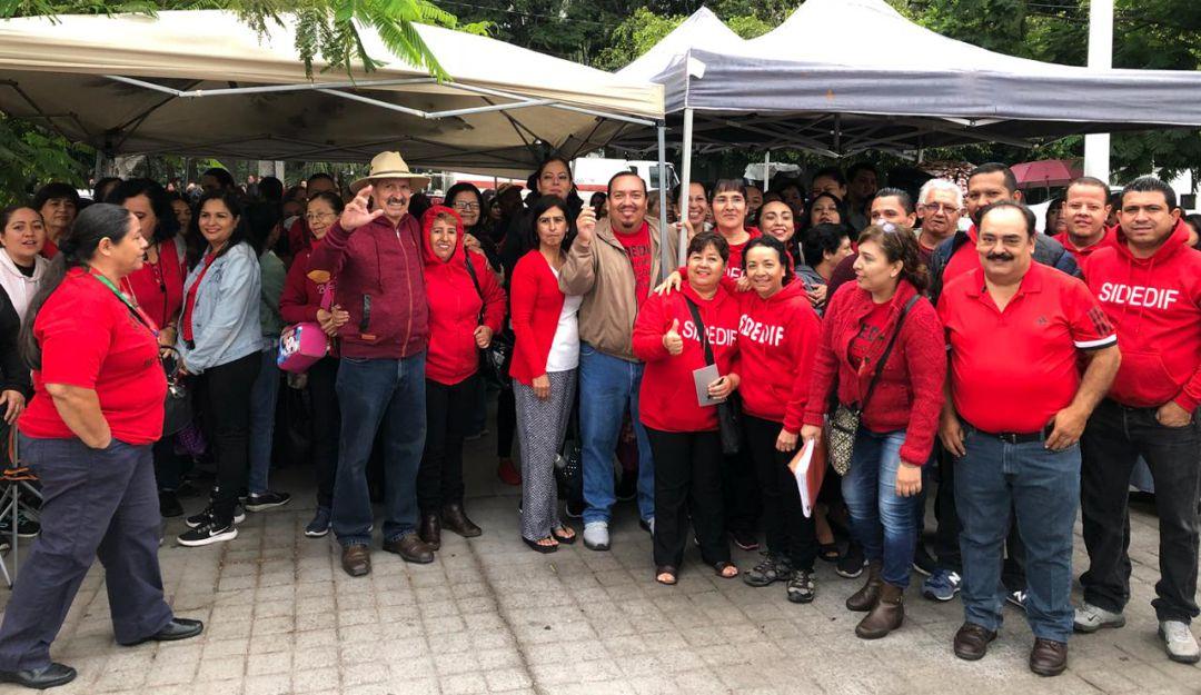 Trabajadores del DIF Zapopan atrasarán estallamiento de huelga