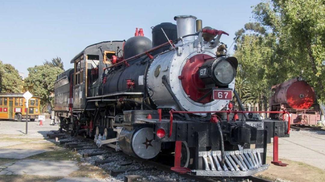 """""""Petra"""", la locomotora que llegará al Zócalo para celebrar la Revolución"""