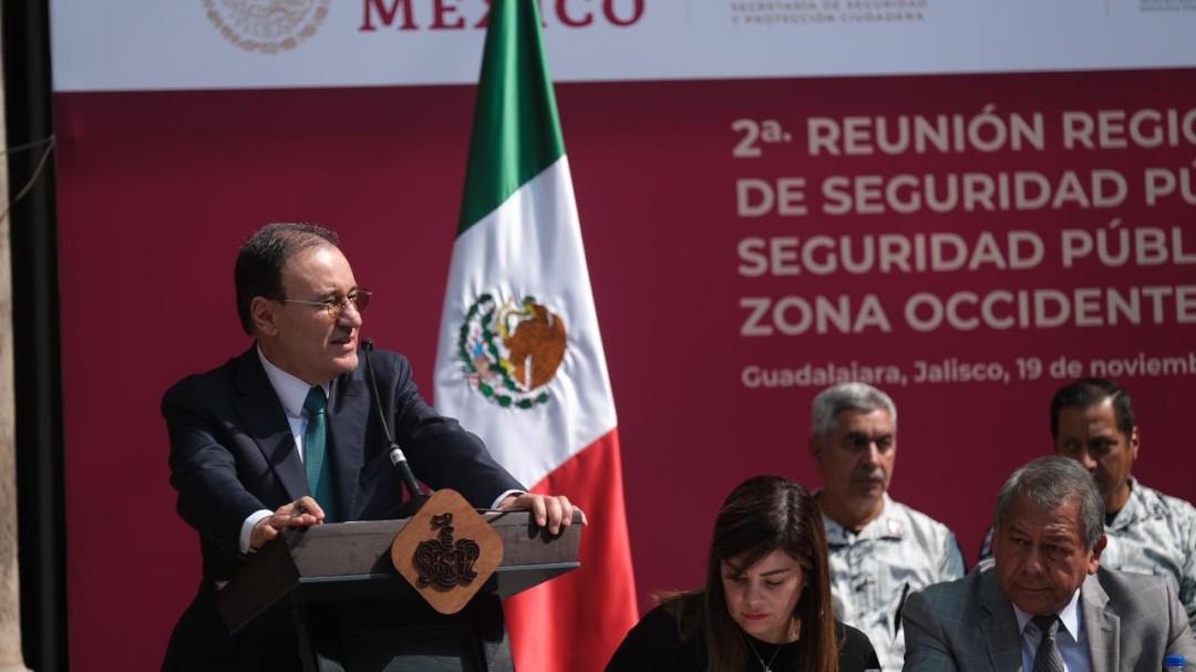 Guadalajara vive bajos niveles de incidencia delictiva: Alfonso Durazo