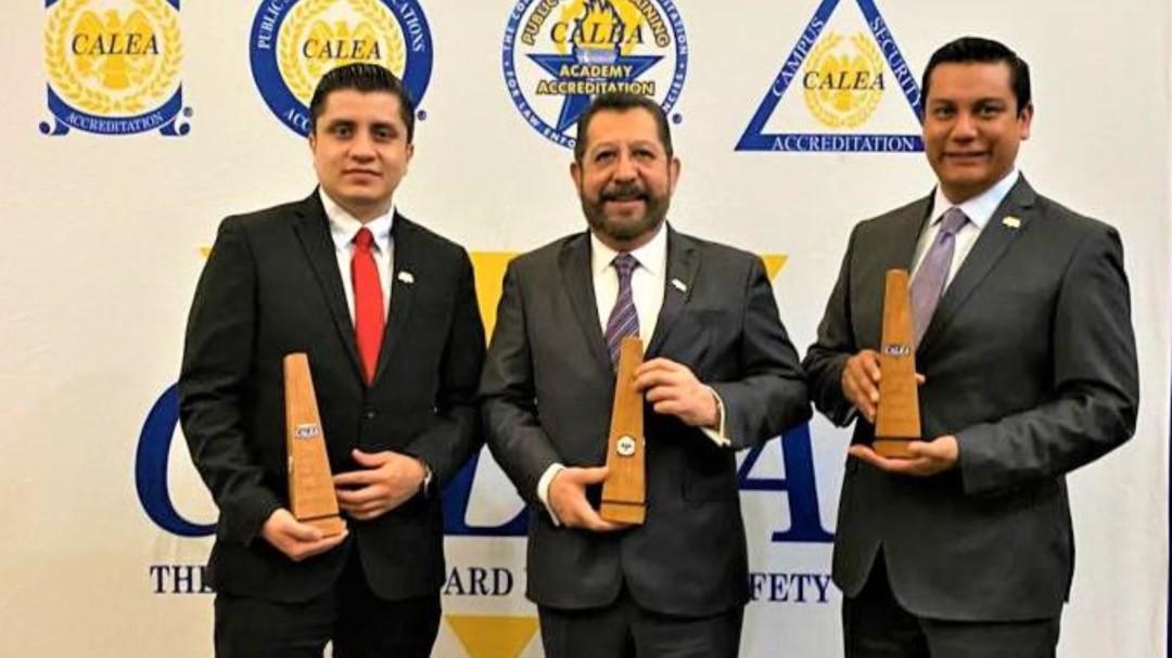 Entregan certificación internacional triple al gobierno de Tamaulipas