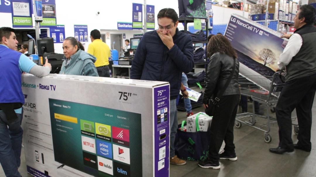 Por error de etiquetados se llegaron a vender pantallas hasta en 3.30 pesos