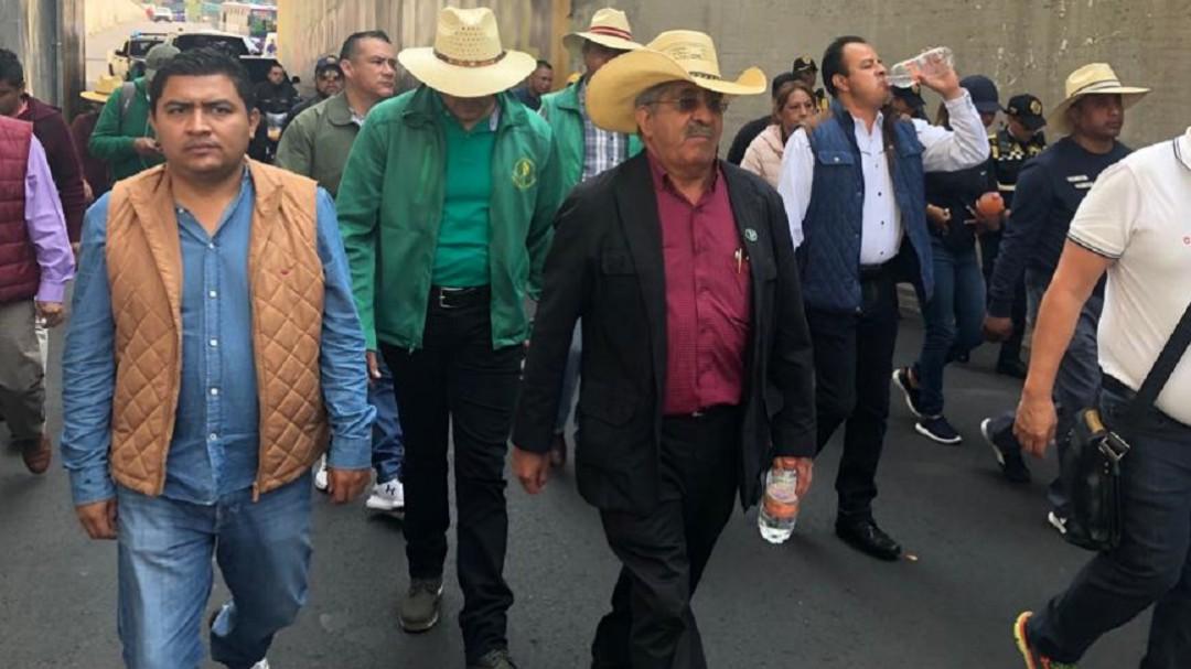 Logramos llegar a Palacio Nacional: Dirigentes campesinos