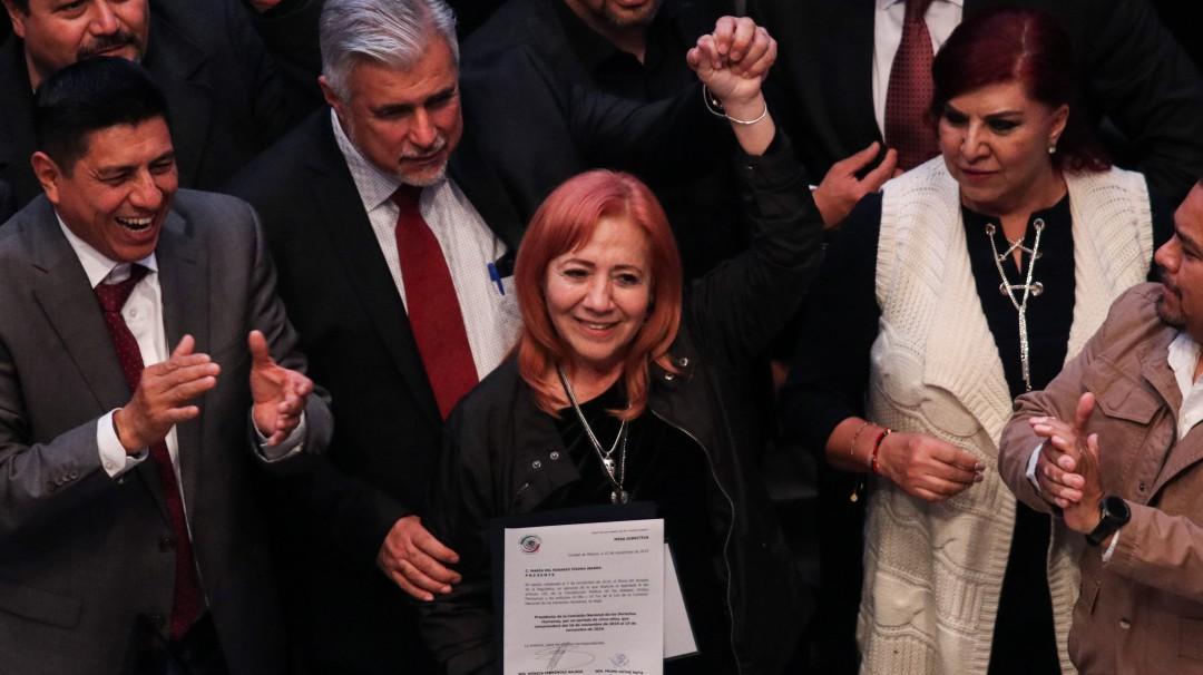 Senadores de oposición irán al Poder Judicial por nombramiento de Piedra
