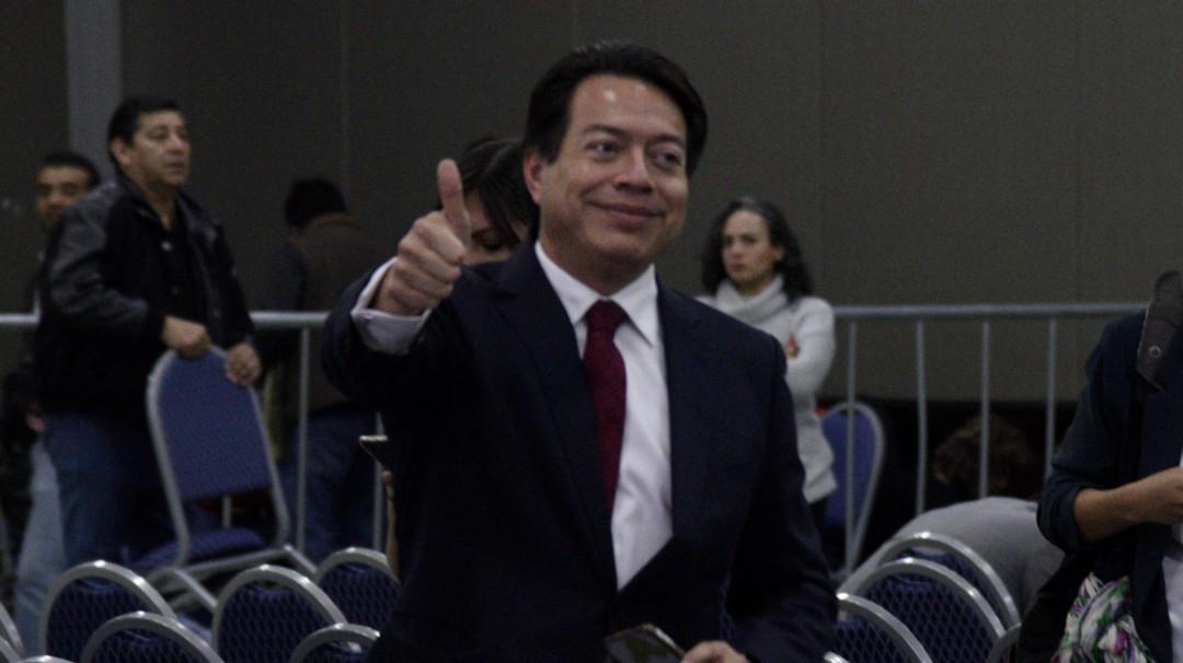 Hoy mismo habrá presupuesto: Mario Delgado