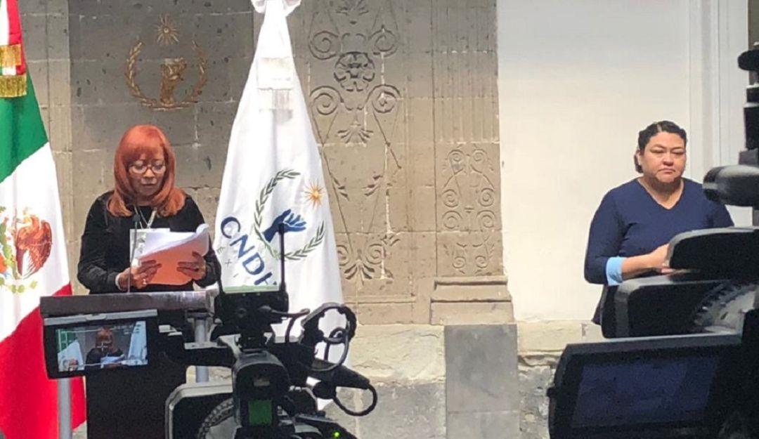 Rosario Piedra presenta plan de austeridad para la CNDH