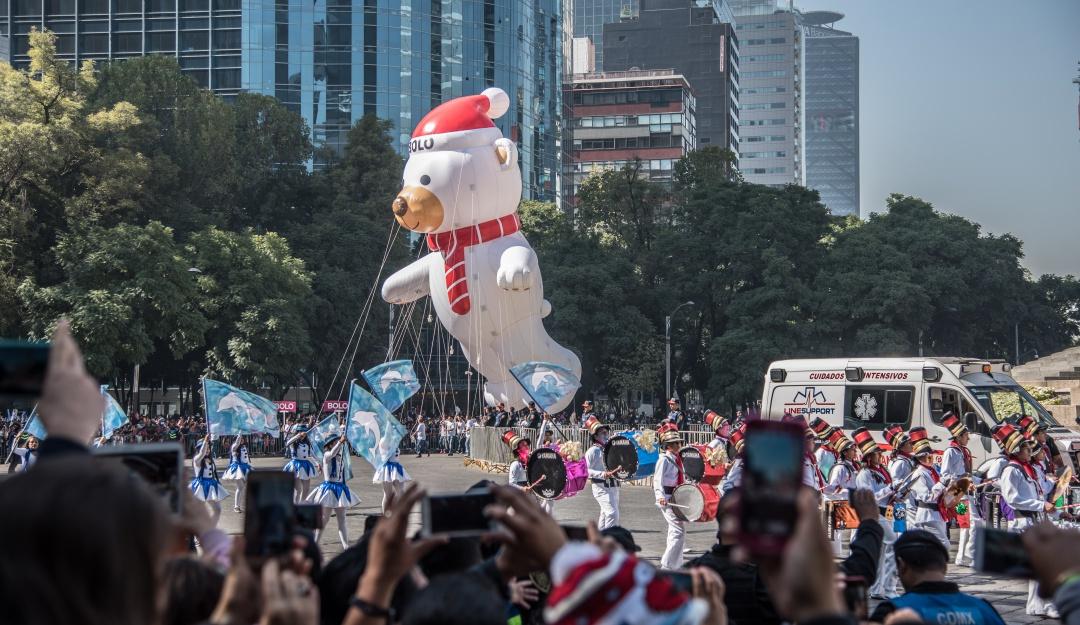 Desfile navideño en Paseo de la Reforma; aquí todos los detalles