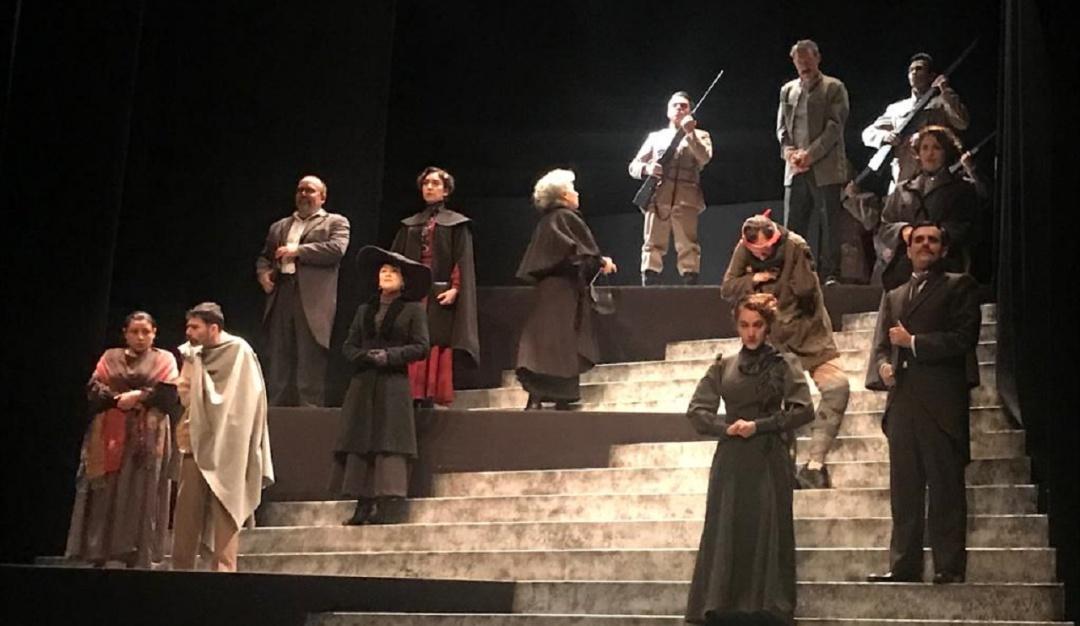 """Presentan el elenco de la obra de teatro """"Felipe Ángeles"""" de Elena Garro"""