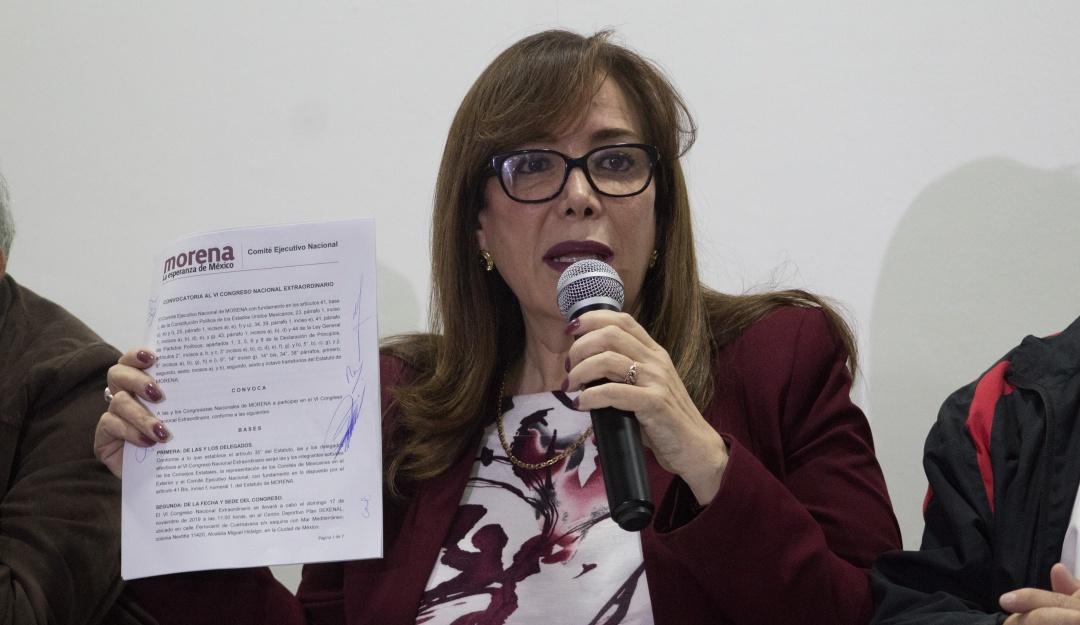 Suspenden Congreso Nacional Extraordinario de Morena