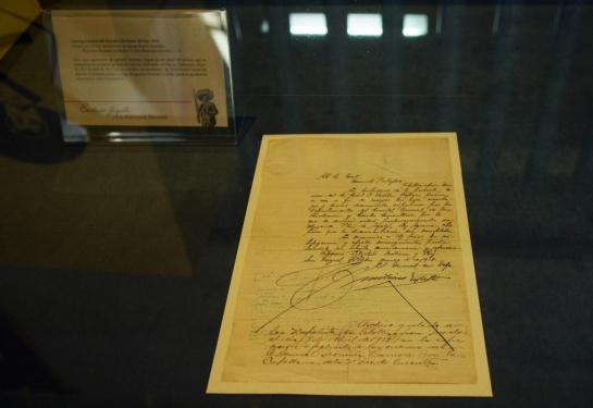 El motivo de la carta es que Zapata le pidía a Palafox entregar a los portadores las leyes, circulares y otros documentos como el Plan de Ayala