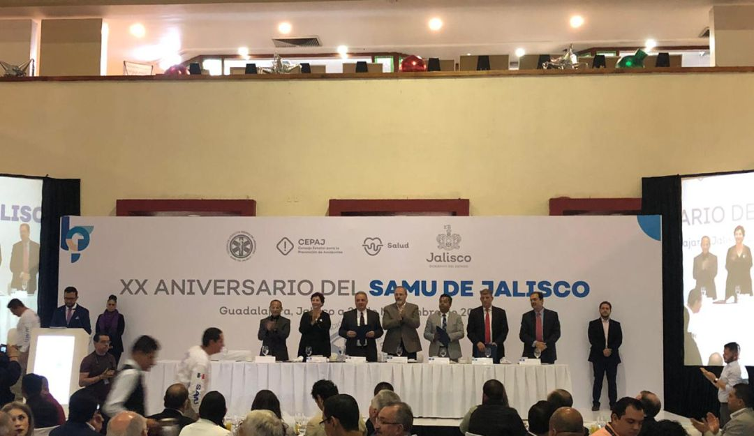 SAMU celebra su 20 aniversario