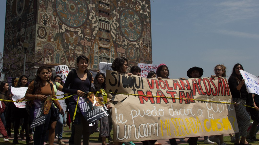 Incrementará UNAM unidades para atender denuncias por violencia de género