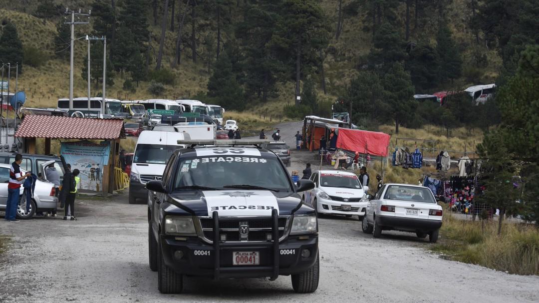 Refuerzan vigilancia en Nevado de Toluca