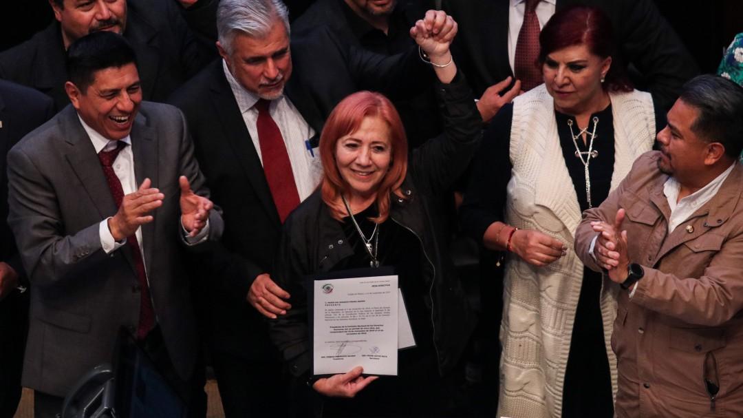 TEPJF desecha recurso del PAN contra designación de Rosario Piedra en CNDH