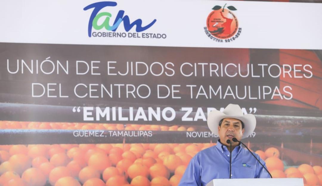 Tamaulipas fortalece presencia policial en región citrícola