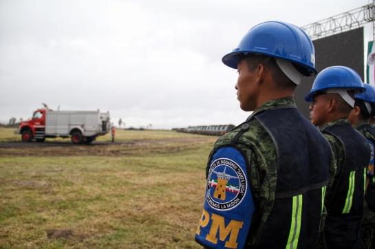 El documento que fue publicado por la Secretaría de la Defensa Nacional, la firma francesa señala que la pista 1 solo se utilizará para despegues