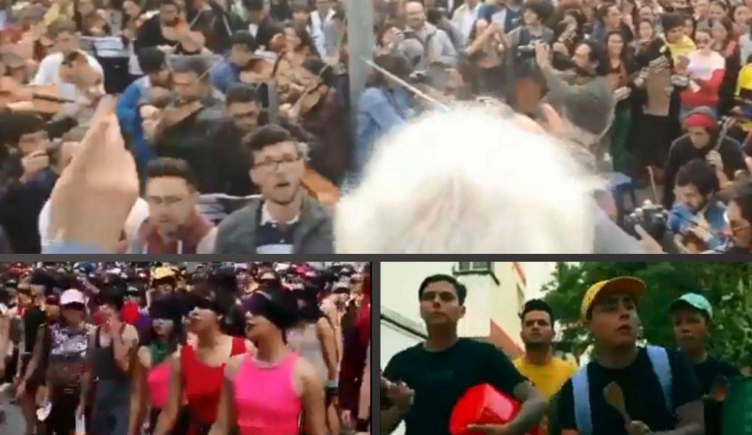 Cacerolazo sinfónico y las formas creativas de protestar en América Latina