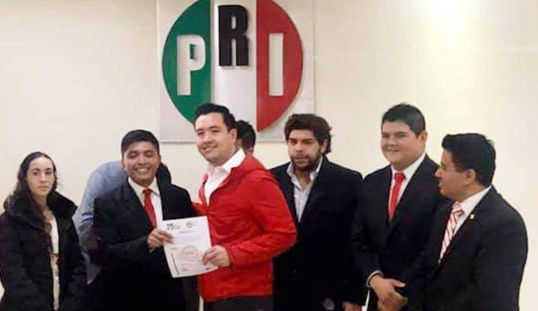Eligen a Fernando Pulido como presidente del Movimiento Juvenil del PRI