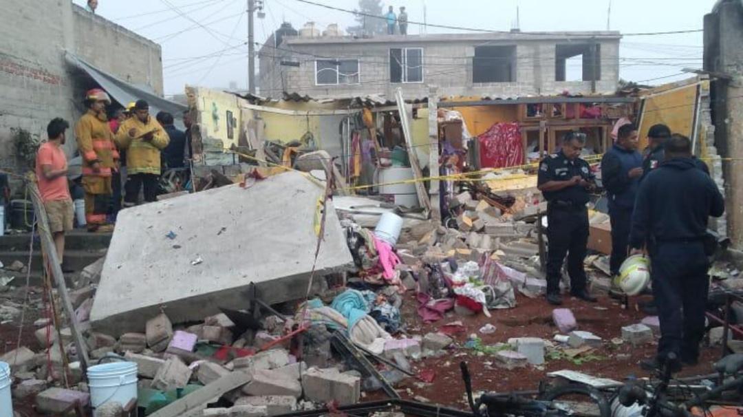 Explota polvorín en Tultepec; hay dos muertos