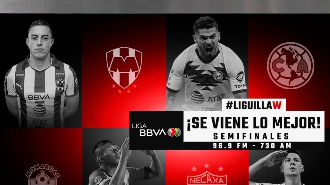 Así se jugarán las semifinales del futbol mexicano