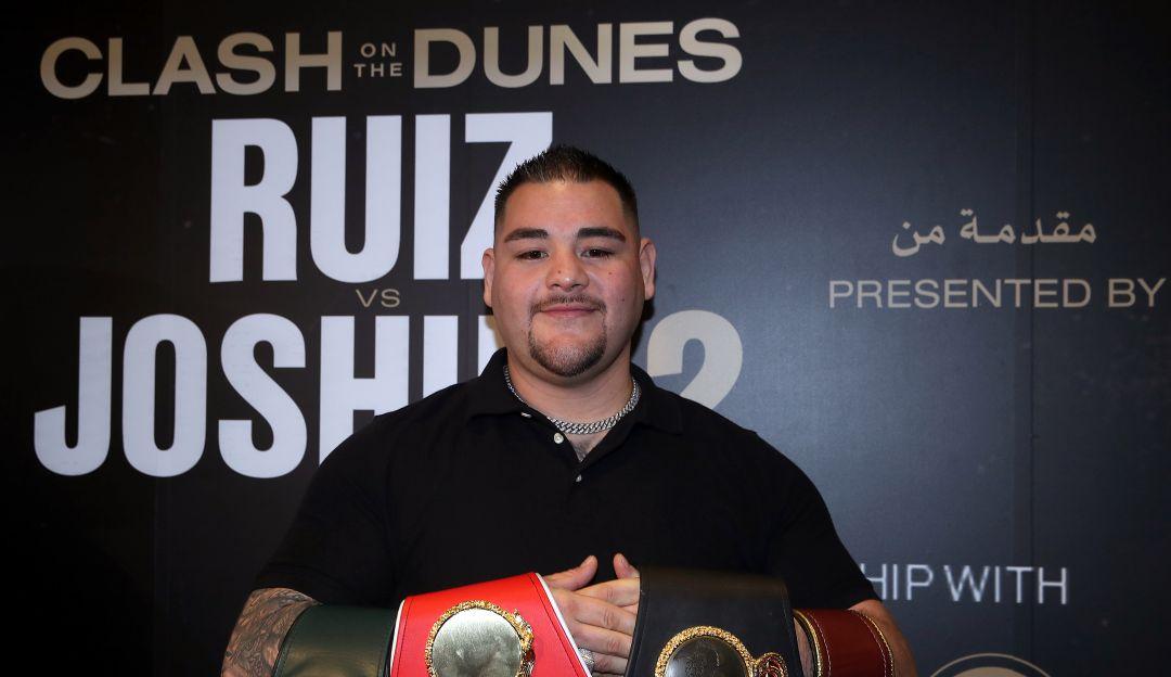 Precios de locura para la Andy Ruiz vs Joshua